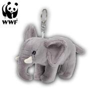 WWF Plüschanhänger Elefant (10cm) Schlüsselanhänger Kuscheltier Stofftier Afrika