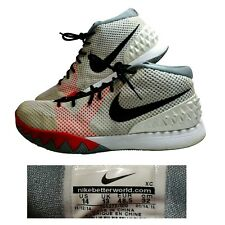 meet c1803 620a5 Nike~Kyrie 1~Men s 14~Basketball Shoes~Black Infrared Red White Grey