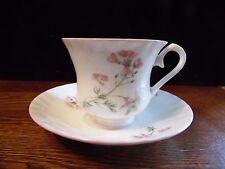 Royal Stanley Bone China Staffordshire England Pink Floral Tea Cup Saucer Set