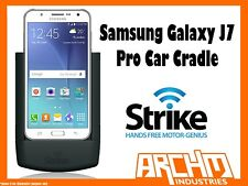STRIKE ALPHA SAMSUNG GALAXY J7 PRO CAR CRADLE - BUILT-IN CHARGER SECURE PROTECT
