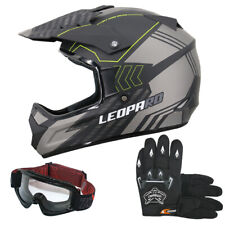 Motocross Helm Motorradhelm Off Road Brille Handschuhe Optional XS S M L XL XXL