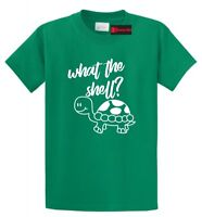 What The Shell Funny T Shirt Turtle Lover Cute Turtle Graphic Tee