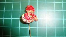 Dorus Tom Manders pin badge 60s 60's original lapel Dutch speldje rood