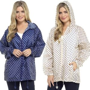Womens Rain Mac Ladies Lightweight Pack Away Hooded Festival Raincoat In A Bag
