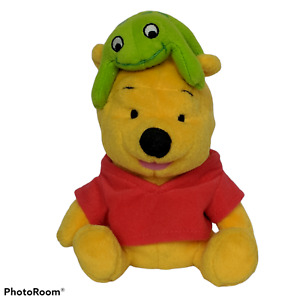 "Disney Winnie The Pooh Fisher Price Star Bean Froggy Friend Stuffed Animal 7"""