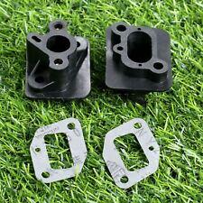 2 Set Grass Trimmer Exhaust Manifold & Gasket For Brushcutter CG520 43CC 52CC