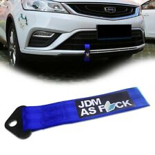 JDM AS Drift Decal Pattern Tow Strap Car Front/Rear Bumper Towing Hook Tow Ropes