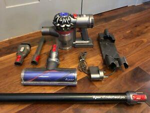 Dyson V7 Motorhead Pro Cordless Vacuum, Hoover, Wall Charger, Motorised Head