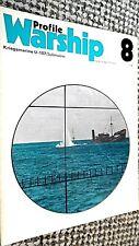 PROFILE WARSHIP #8: KRIEGSMARINE U-107: SUBMARINE (1971)