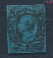 Sachsen 10 Pracht gestempelt 1855 König Johann I (8100624