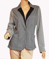 CREAM  exclusiver Blazer Modell TERRIE Blazer schwarz/weiß Muster Gr.XL -  Neu