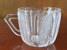Jeannette Dewdrop Clear Punch Cup(s)
