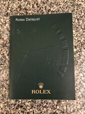 ROLEX DATEJUST INFORMATION BOOKLET DATED 2003 Ref 552.02 Eng - 11.2003