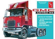 1:25 AMT GMC ASTRO 95 Semi Truck Plastic Model Kit *NEW SEALED*
