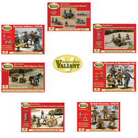 Valiant Miniatures WW2 German British Infantry 1/72 Wargaming