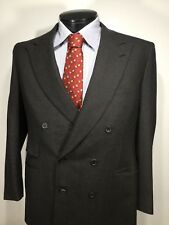 Brioni Finissimo Wool mens double breasted Sport Coat Jacket 42R