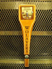 WOLAVERS BREWING Co Vermont ~ Certified Organic Coffee Porter ~ Beer Tap Handle