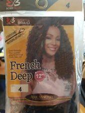 "Bobbi Boss Crochet Braiding Hair - French Deep 12"" color 4"