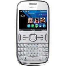 Nokia Asha 302 100% ORIGINALE SENZA FISSO Telefono cellulare Garanzia 3G Bianca
