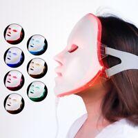 7 Colors Photon LED Facial Mask Skin Rejuvenation Anti Wrinkle Beauty Home Use