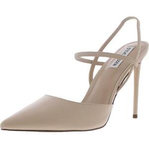 Steve Madden Womens Valentine Beige Pumps Heels 10 Medium (B,M) BHFO 5339