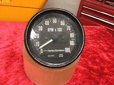 Vintage Harley Davidson AMF Shovelhead Ironhead Sportster Speedometer OEM H-D