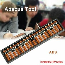17 Digit Rods Standard Abacus Soroban Chinese Japanese Calculator Counting Tool