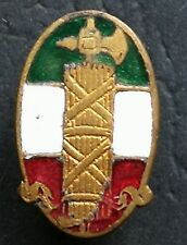 EARLY TYPE 1° PARTY ENAMELLED P.N.F. 1919/23 BADGE PARTITO NAZIONALE FASCISTA #4