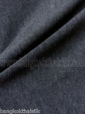 """CHARCOAL GRAY ITY Stretch Jersey Knit Interlock Fabric Wrinkle Free Smooth 60""""W"""