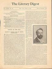 "1901 GEORGE D. HERRON ""SOCIAL APOSTOLATE""+ABBOTT,CROSBY,HILLIS,MARKAM,RAND"
