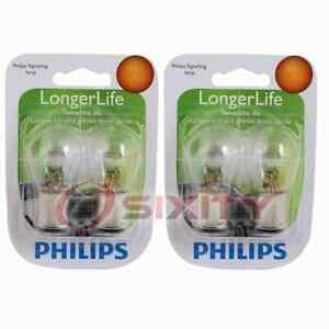 2 pc Philips Parking Light Bulbs for Mercedes-Benz S320 S350 S420 S500 S600 do