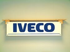 Iveco Banner Truck Workshop commercial Vehicle  Garage pvc sign