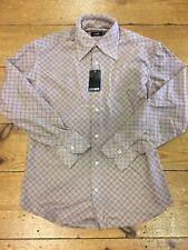 Peter Werth Gamuza compruebe Camisa-Medio (3)