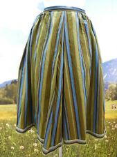 Trachtenrock Resi Hammerer Baumwolle mit Streifen und Borte Trachten Rock Gr.40