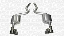 """2015 2016 Mustang GT 5.0 Corsa SPORT Axle-Back Polished Quad 4"""" Tips New"""