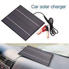Car Vehicle Waterproof Polycrystalline 5.5W 12V Solar Panel Battery Charger