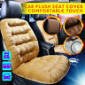 Front Car Seat Cover Soft Warm Plush Pad Mat Chair Cushion Universal Mat Nonslip