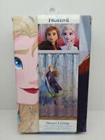 Disney Frozen II Fabric Shower Curtain 72 x 72 Believe In The Journey  Polyester