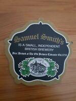 SAMUEL SMITH'S Beer Coaster/ Mat Independent British Brewery