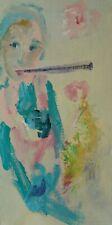ERNESTO TRECCANI - olio su tela cm. 20x40 - in cornice extra lux - AFFARE!!!!!