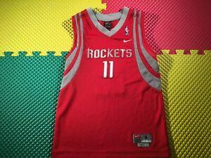 Yao Ming #11 Houston Rockets Team Nike Red Sewn Jersey Youth Size Small +2 Mint