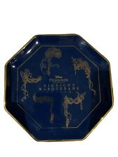 Disney Store Designer Collection Midnight Masquerade Character Plate