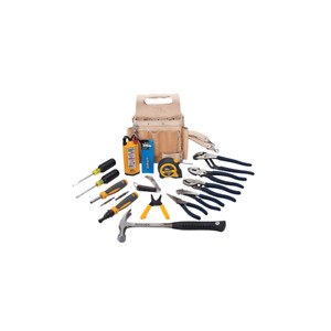 Ideal 35-800 Electrician's Tool Set w/Pouch, 16-Piece