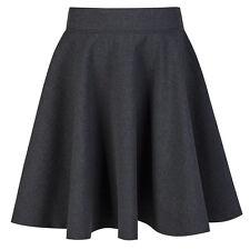 Girls Navy, Grey & Black Skater School Skirt