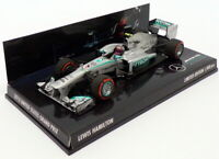 Minichamps 1/43 Scale 413 130210 - F1 Mercedes -AMG Petronas 2013 - L.Hamilton