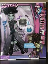 NEW Monster High Frankie Stein Ghouls Rule Doll Sealed Factory SKULL PURSE MASK
