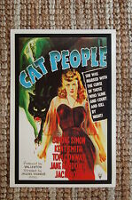 Cat People Lobby Card Movie Poster Simone Simon Kent Smith