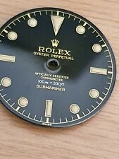 Vintage Rolex Submariner 100m 330ft Dial Par