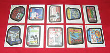 WACKY PACKAGES ANS10 AS SEEN ON TV RARE  @@   CLOTH SET 1-10   @@    NM/MT