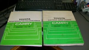 TOYOTA CAMRY WORKSHOP REPAIR MANUALS,1986,HAVE BEEN USED IN WORKSHOP!